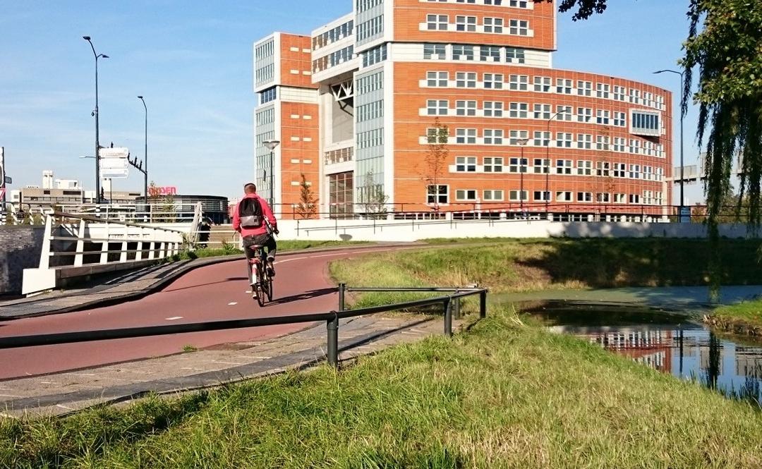 Buishekwerk ten behoeve van fietspaden