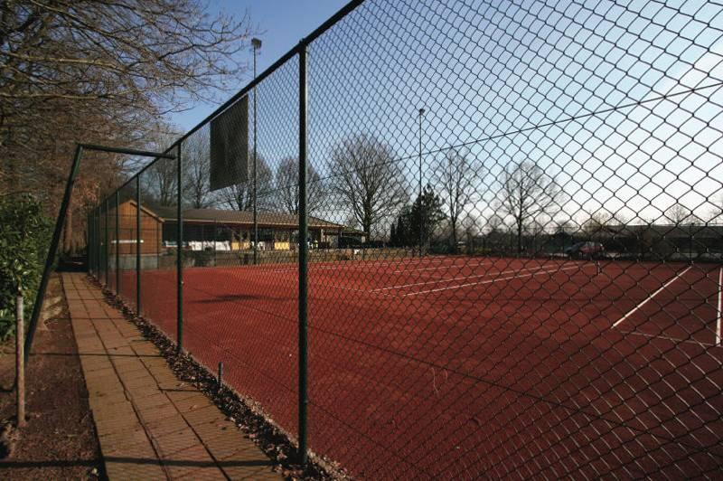 Consepto Hekwerk-Tennisbaanafrastering gaas
