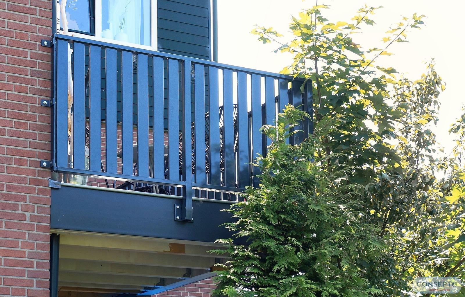 Woodlook Balkonhekwerk | Consepto Hekwerk