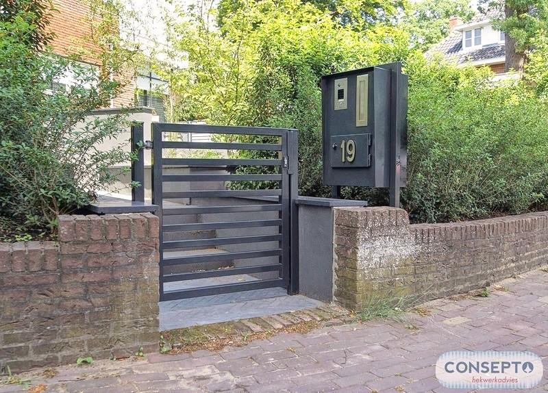Consepto Hekwerk-Looppoort Sierhekwerk Sierpoort Tuinpoort Design Modern