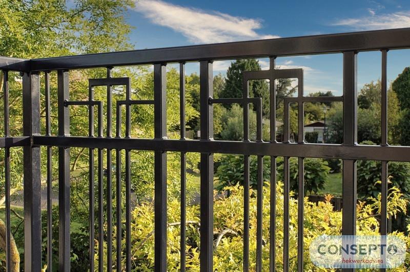 Consepto Hekwerk-Art Deco Balkonhekwerk Dakterras