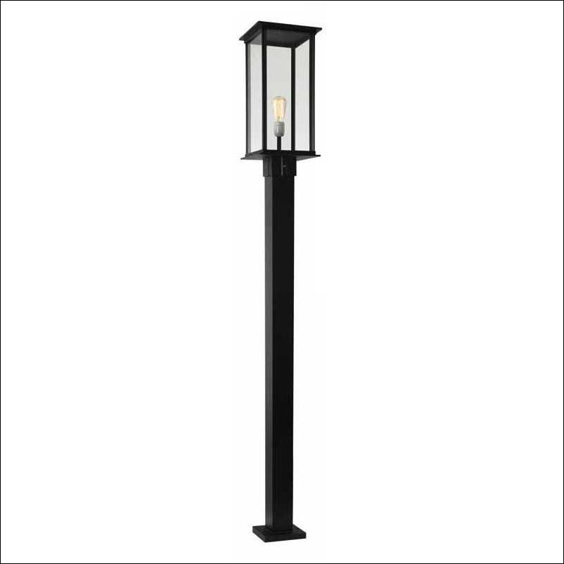 Consepto Hekwerk-Staande Lamp poortlamp poortverlichting sokkellamp