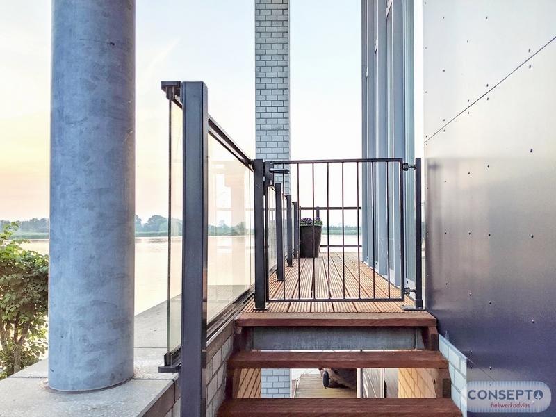 Consepto Hekwerk-Spijlenhekwerk poort design