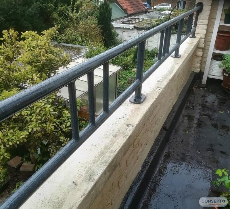 Consepto Hekwerk-balkonhekwerk jaren '30 verhogong - Replica