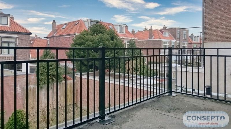 Consepto Hekwerk-Balkonhekwerk jaren '30 model Oegstgeest hekwerk