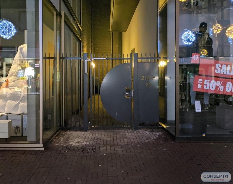 Consepto Hekwerk-Spijlenpoort Winkelstraat appartementen overlast