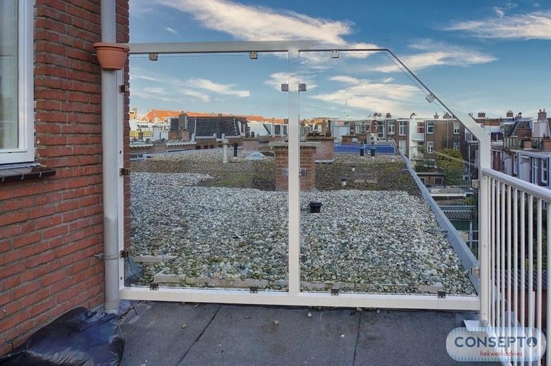 Consepto Hekwerk-Windscherm balkon dakterras