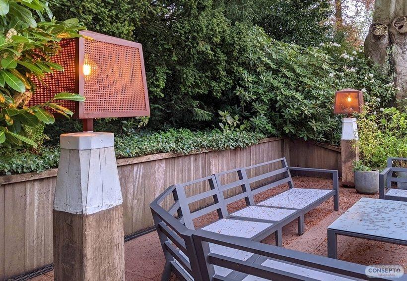 Consepto Hekwerk-Verlichting op maat staande lamp
