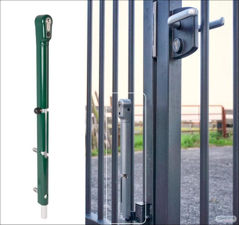 Consepto Hekwerk-Valpen Keydrop Locinox valgrendel cilinderslot